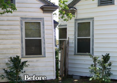 White Vinyl Siding House Washing Corpus Christi 3