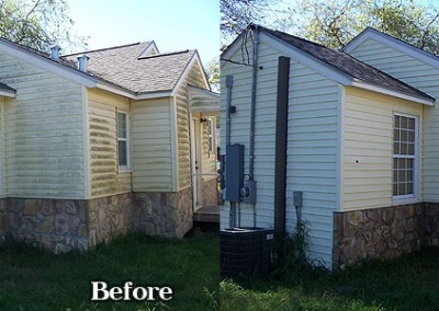 House Washing in Corpus Christi Vinyl Siding 3