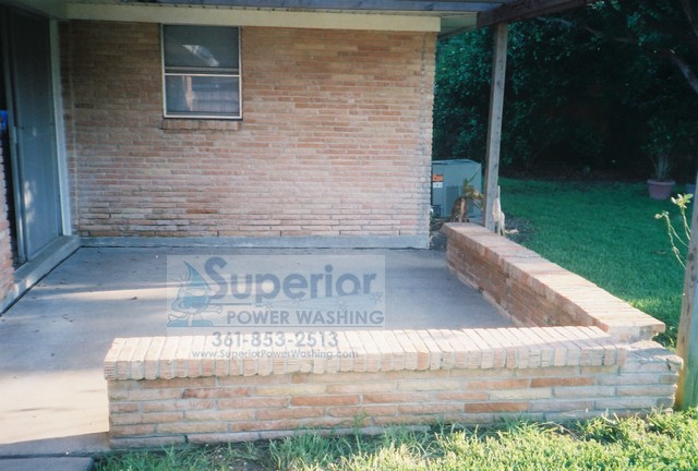 Brick House and Patio Cleaning after 2 - Superior Power Washing